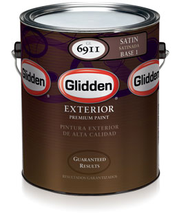 Glidden Premium Collection Exterior Paint Satin