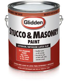 Glidden Stucco Masonry Paint Professional Low Maintenance Paint